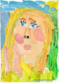 Isabellas self-portrait Realisticus Art Academy