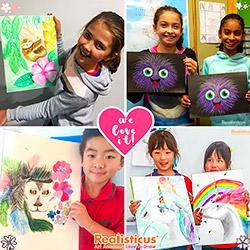 Realisticus Art Classes in Aucklands for Children