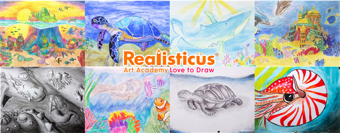 Art Classes for Kids based on Realistic Drawing Skills in